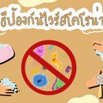 2Uแนะนำ-วิธีป้องกันตนเองจากไวรัสโคโรน่า-⁉