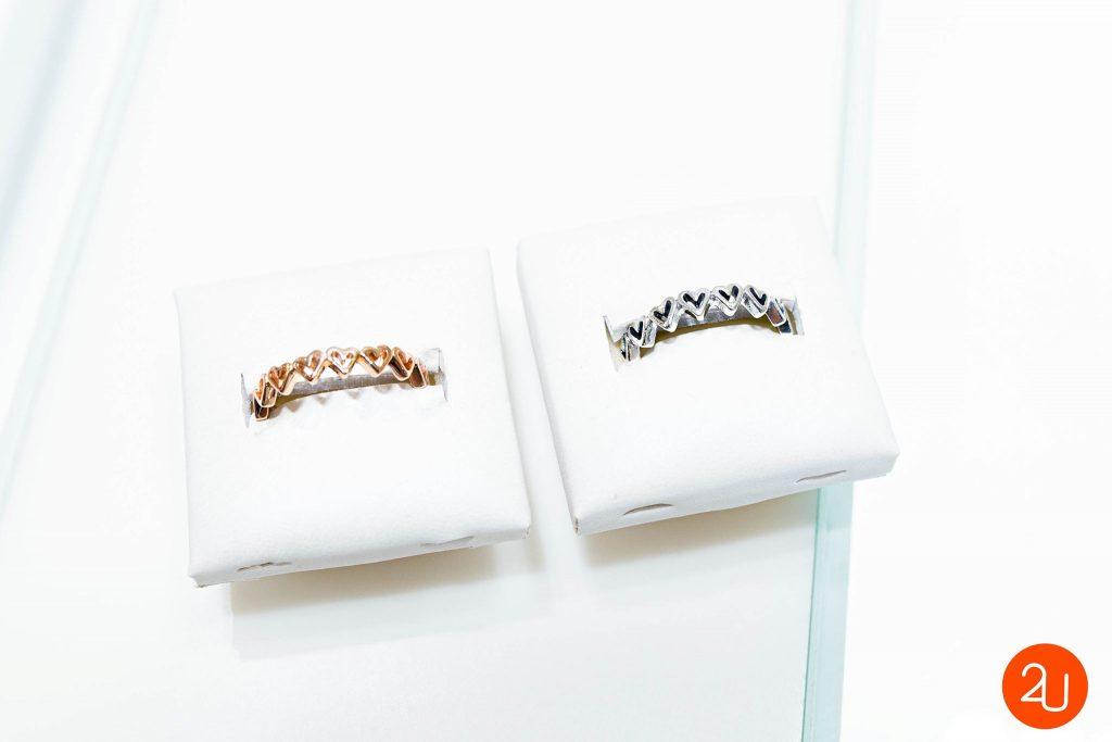 pandora valantine collection bangle ring