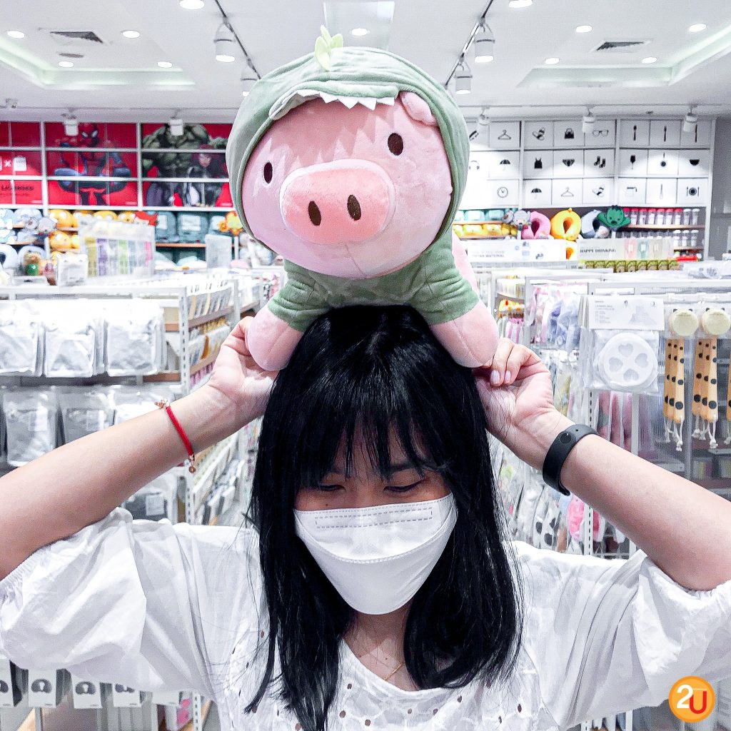 Miniso New pig doll collection