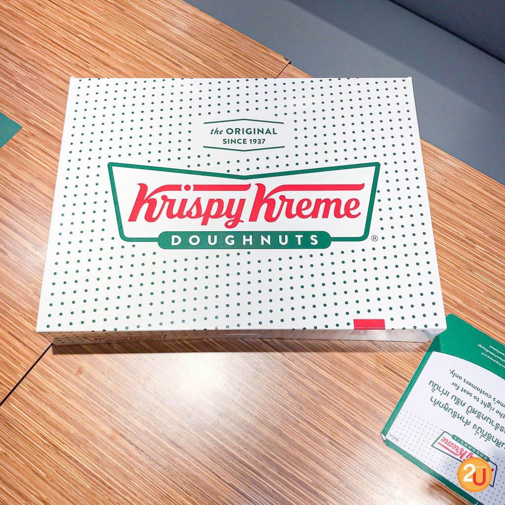 Krispy Kreme box