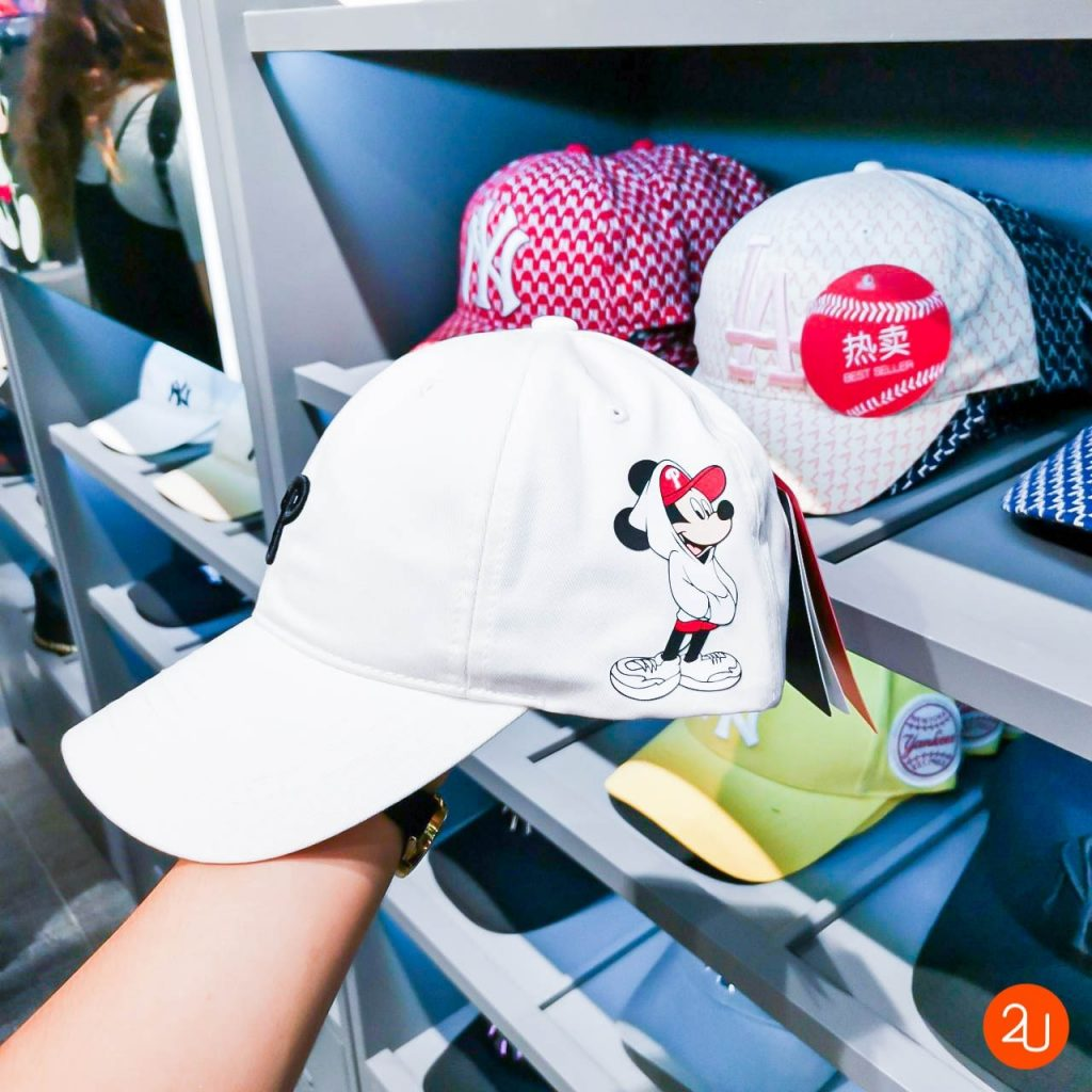 MLB X Disney hat Mickey Mouse red