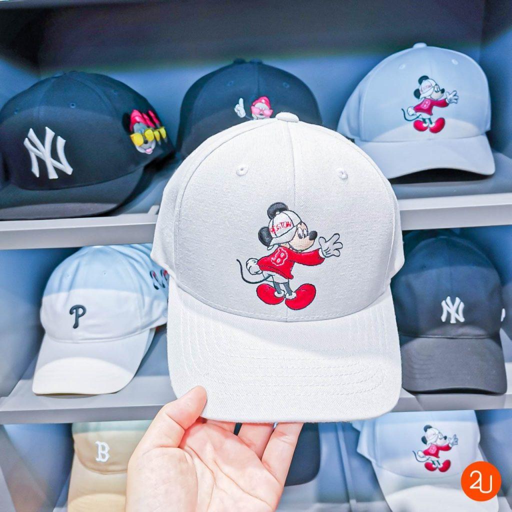MLB X Disney hat Mickey Mouse white