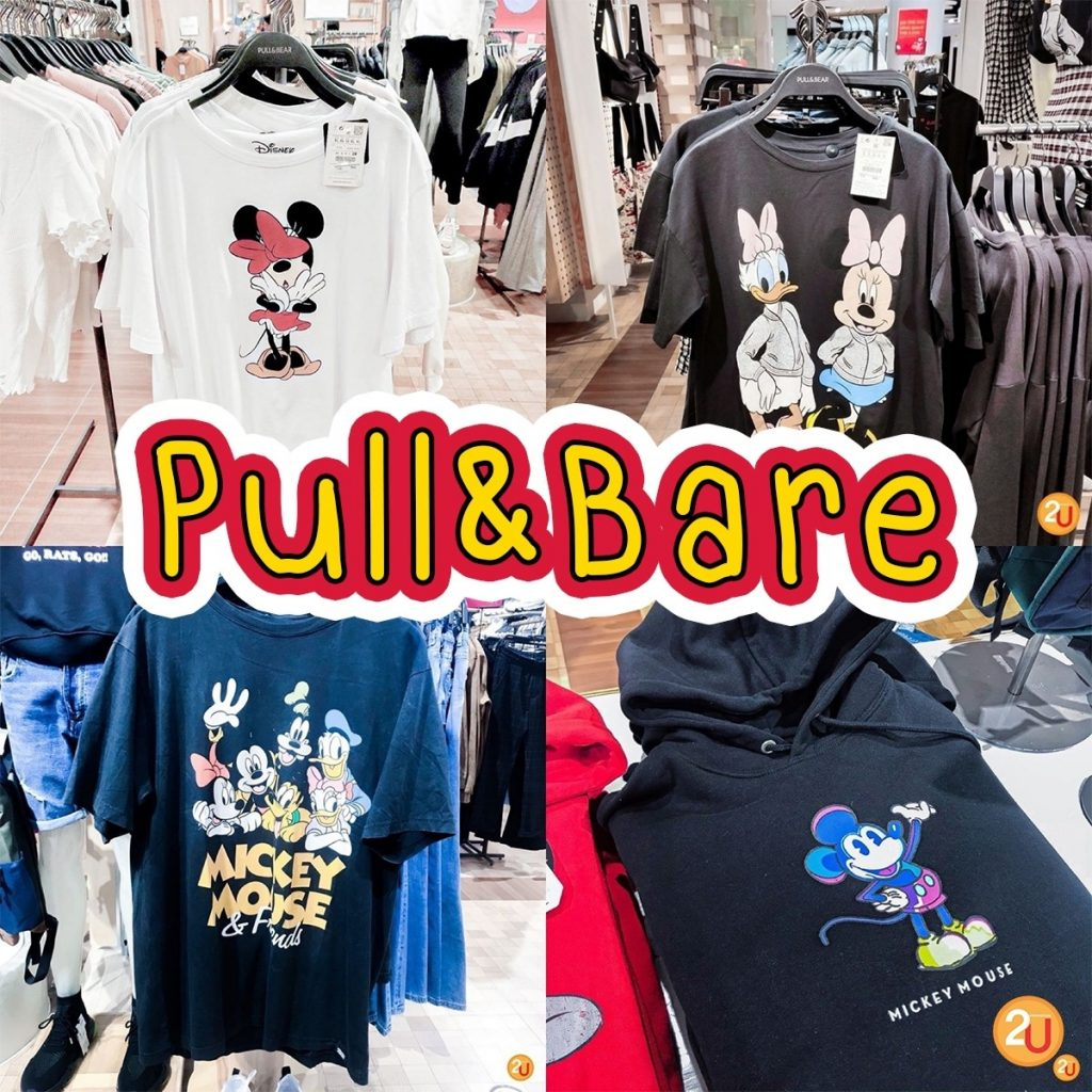 Pull&Bare x Mickey Mouse